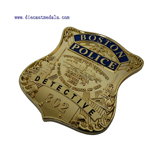 Boston Police Detective Badge