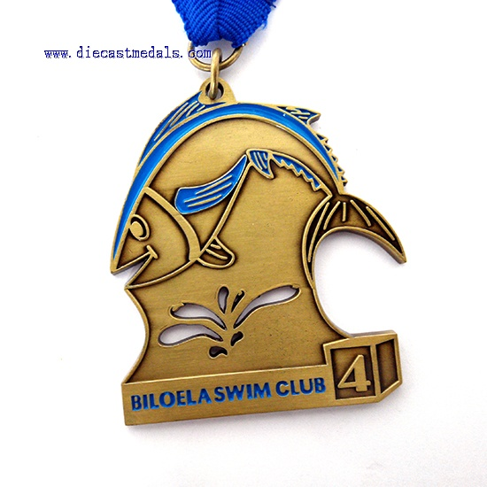Swim Club Medal