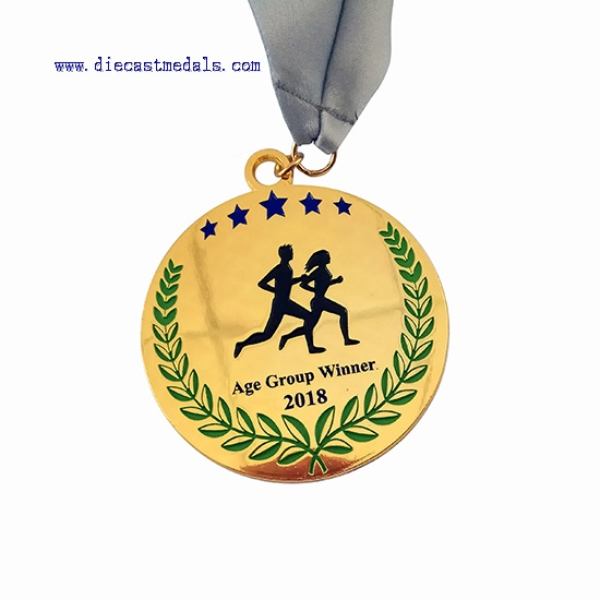 250KM Run Medal