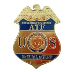 US ATF Badge