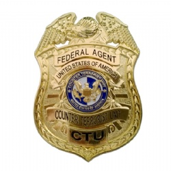 CTU Badge Federal Agent