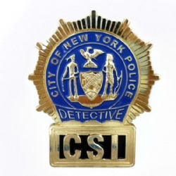 CSI Badge NY Detective