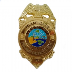 MIAMI Police Badge