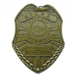 STARS Raccoon Police Badge