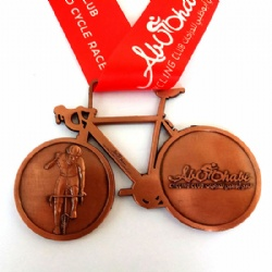 Cycling Sports Medal